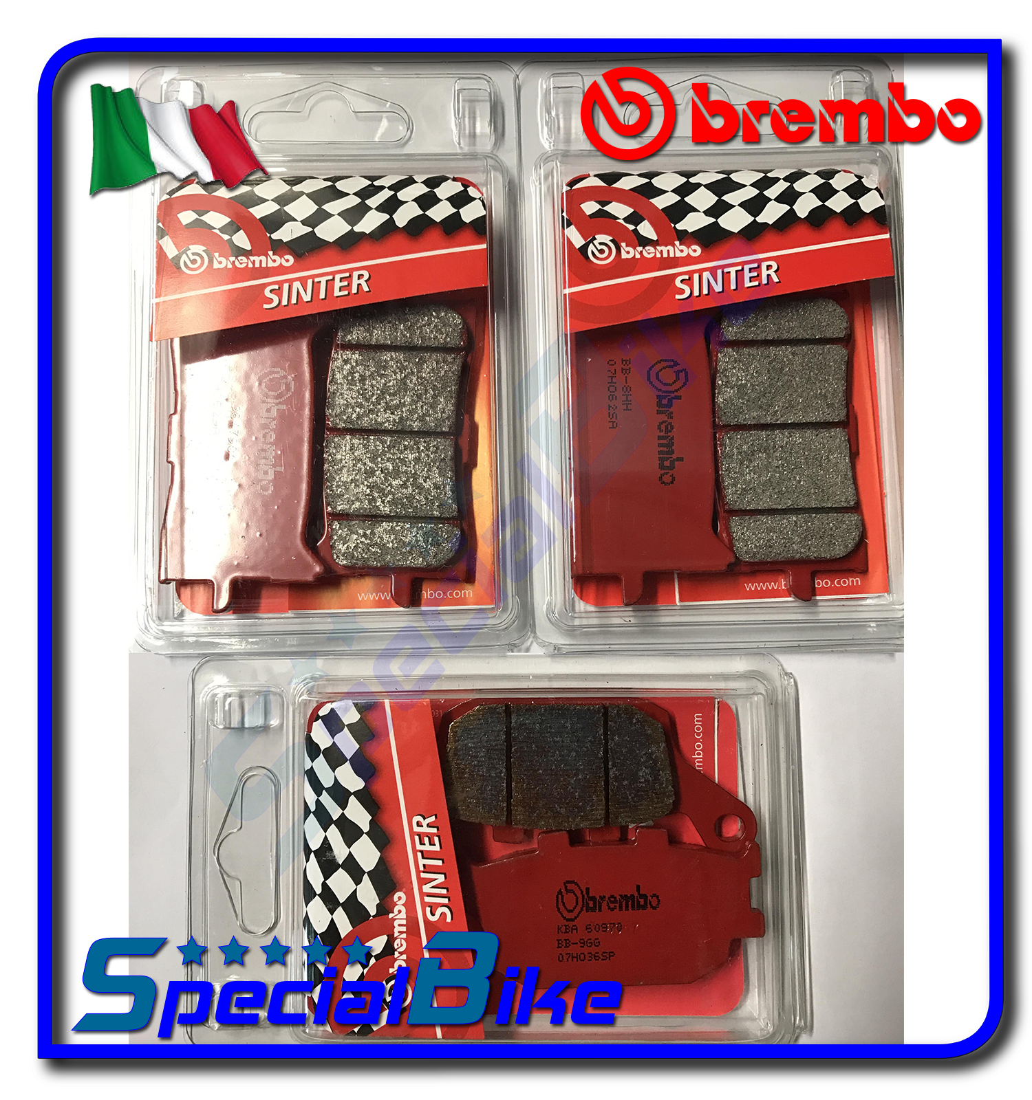 HONDA-CRF-1000-L-AFRICA-TWIN-2016-gt-BREMBO-FRONT-REAR-BRAKE-PADS-SET