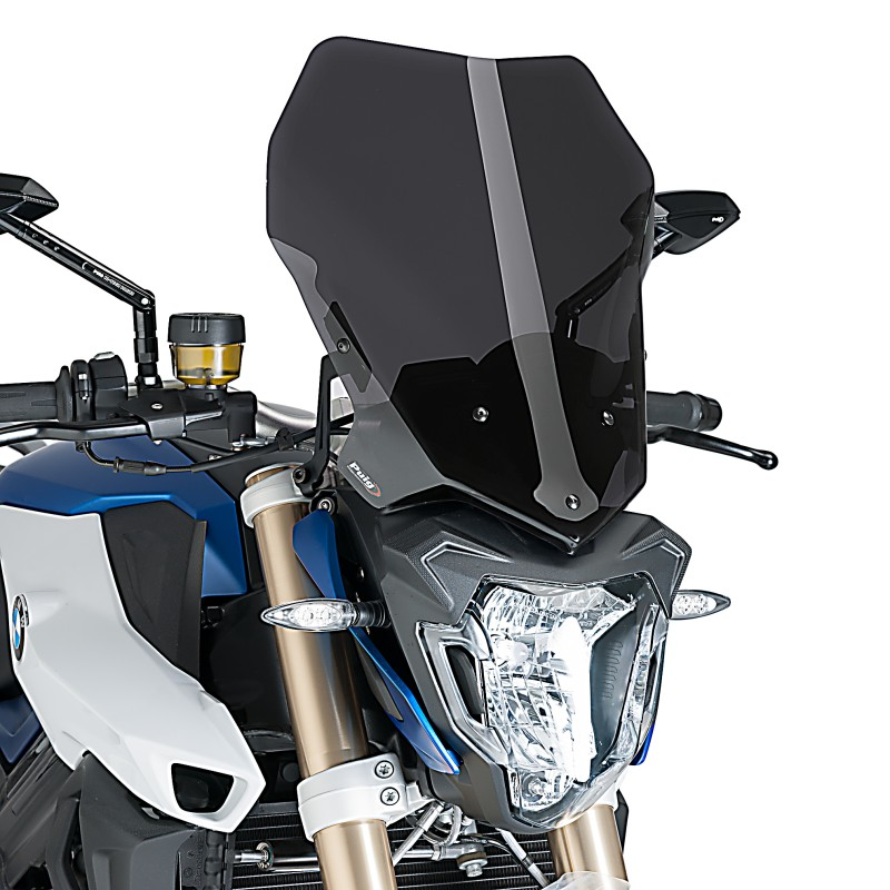 BMW F 800 R 2015 /> 2016 CUPOLINO PUIG FUMÉ SCURO SPORT NAKED PARABREZZA